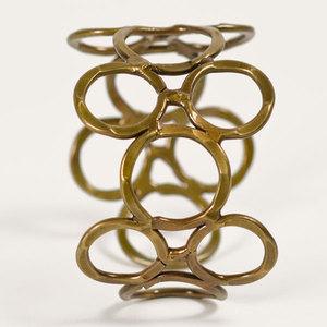 'Orbit' Armreif - Brass - Kalakosh
