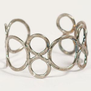 'Orbit' Armreif - Silver - Kalakosh