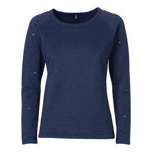 ThokkThokk Pythagoras Sweater Woman Midnight Melange - THOKKTHOKK