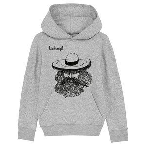 Kinder Hoodie Print | MEXIKANER | karlskopf | 85% Bio-Baumwolle - karlskopf