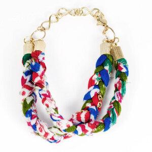 'Recycled Sari' Bracelet - Kalakosh