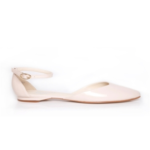 Vanessa Nude Faux Patent - Beyond Skin