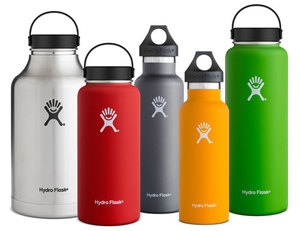 Standard Mouth Isolierflasche aus Edelstrahl 0,7 l - Hydro Flask
