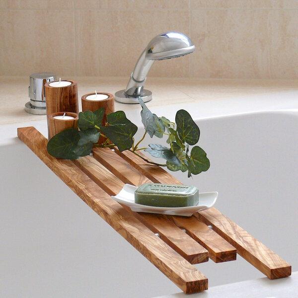 olivenholz erleben badewannenablage design ca 75 cm aus. Black Bedroom Furniture Sets. Home Design Ideas