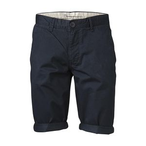 Twisted Twill Shorts - Total Eclipse  - KnowledgeCotton Apparel