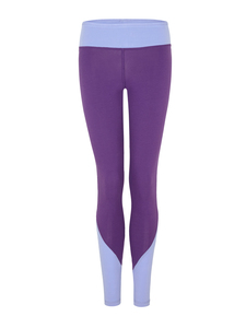 Colour Block Leggings - Lila/Lavendel - Mandala