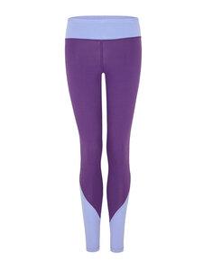 Colour Block Leggings - Lila/Lavendel - Mandala