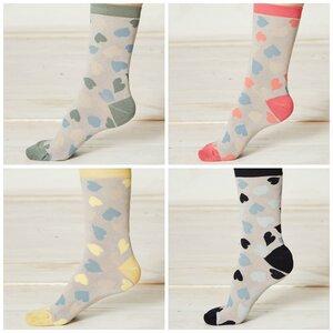 4er Pack Bambus Socken Happy Heart - Braintree