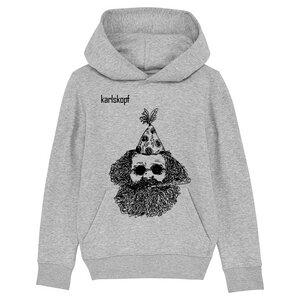 Kinder Hoodie Print | FASCHING | karlskopf | 85% Bio-Baumwolle - karlskopf