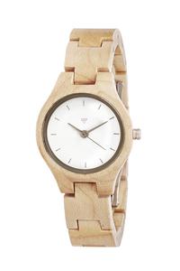 Kerbholz Adelheid Uhr aus Holz - Kerbholz
