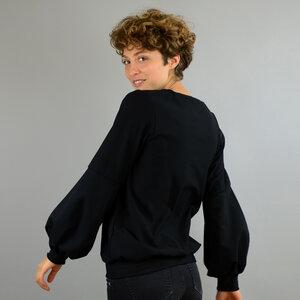 Pullover aus Biobaumwolle kbA mit Ballonärmeln - ManduTrap