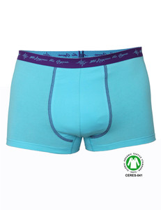 Herren Retro Pant aqua GOTS - 108 Degrees