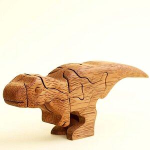 3D Holzpuzzle - Tyrannosaurus - Ecowoods