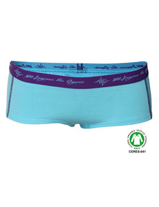 4er Pack Damen Hot Pants aqua GOTS - 108 Degrees