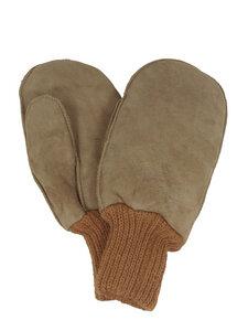 Kinder Lammfell-Handschuhe mt Strickbund - Naturfell Paradies