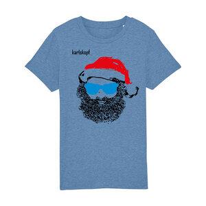 Kinder T-Shirt Print   SANTA KARL   karlskopf   100% Bio-Baumwolle - karlskopf