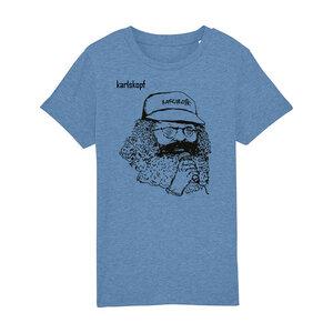 Kinder T-Shirt Print   SAENGER   karlskopf   100% Bio-Baumwolle - karlskopf