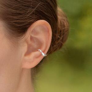 Ohrringe von Nella Ear Cuffs LOTTE aus Silber oder Gold - Nella Earcuffs®
