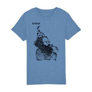 Kinder T-Shirt Print   KAFFEEKLATSCH   karlskopf   100% Bio-Baumwolle - karlskopf