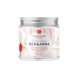 Ben&Anna Zahnpasta Strawberry mit Flourid - Ben&Anna