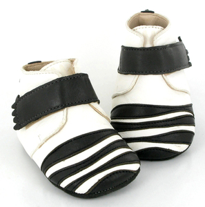 Lederpuschen Zebra - Easy Peasy