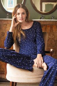 Stars Pyjama Long Sleeve Top - People Tree