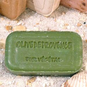 Olivenöl-Seife OLIVE - Olivenholz erleben