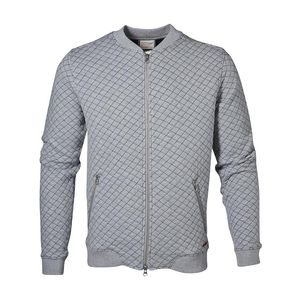 Quilted Bomber Cardigan - KnowledgeCotton Apparel
