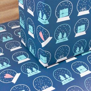 Geschenkpapier Let it snow! - Bow & Hummingbird