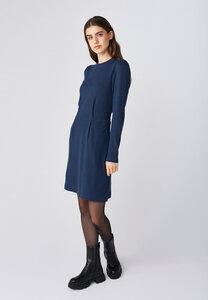Minikleid mit Turtleneck für Damen - Kornelia - Lana natural wear