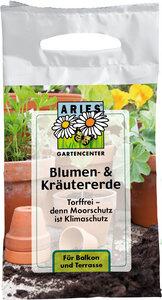Blumenerde und Kräutrerde -  Torffrei - ARIES
