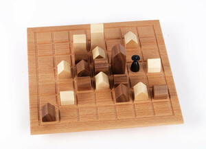 Edles Holzspiel Lass die Kirche im Dorf ab 10 Jahre - Gerhards Spiel & Design