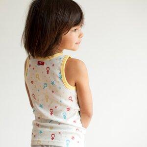 Kinder Unterhemd Weltraum - People Wear Organic