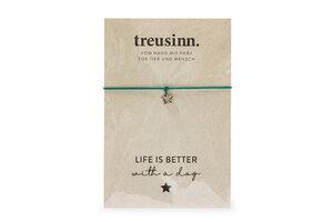 Armband BUDDY Life is better - Treusinn