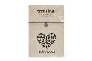 Armband BUDDY I love dogs - Treusinn