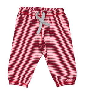 Babyhose rot geringelt - People Wear Organic
