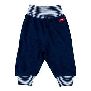 Baby-Frotteehose dunkelblau - People Wear Organic