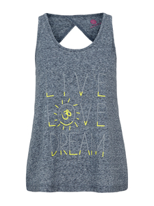 Super Soft Top - Scuba Grey - Mandala