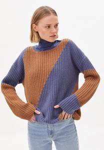 SAADIE STRIPED - Damen Pullover aus Bio-Woll Mix - ARMEDANGELS