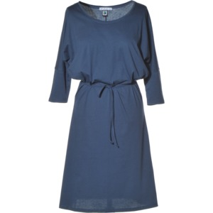 Kleid mit Gürtel Indigo - Anukoo