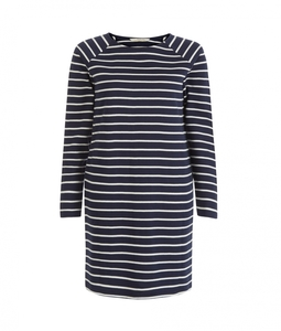 Effie Loopback Dress Navy - People Tree