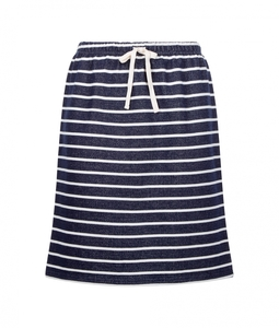 Selena Loopback Skirt gestreift - People Tree