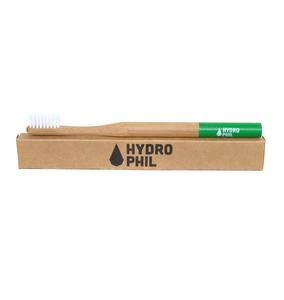 Bambus Zahnbürste grün   - HYDROPHIL
