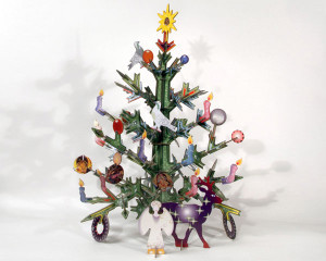 TOTEM Xmas tree - 3D Weihnachtsbaum - Kidsonroof
