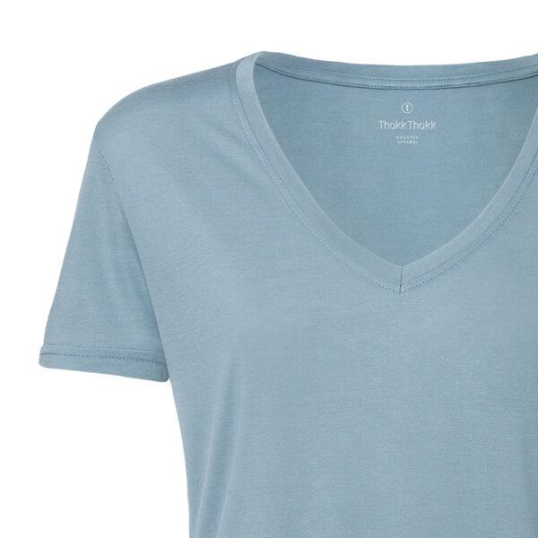 b4ad3708495f59 ThokkThokk ST - ThokkThokk Damen Modal V-Neck T-Shirt
