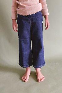 Jeans Culotte für Kinder - frankie & lou organic wear