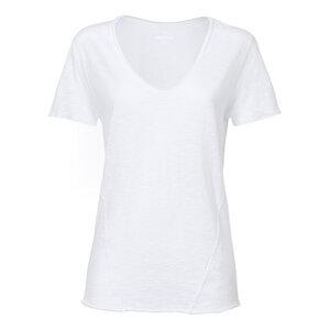 ThokkThokk Damen Raw Edged V-Neck T-Shirt - ThokkThokk ST
