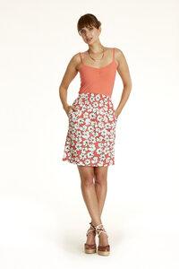 Lauren Skirt Coral - People Tree