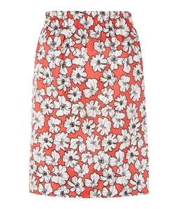 Lauren Skirt Coral - People Tree