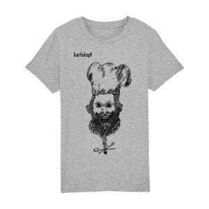 Kinder T-Shirt Print   KOCH   karlskopf   100% Bio-Baumwolle - karlskopf